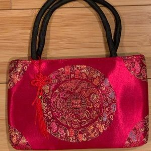 Asian Silk Bag